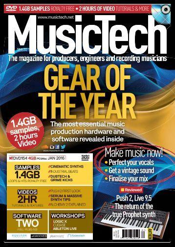 Music Tech – January 2016
