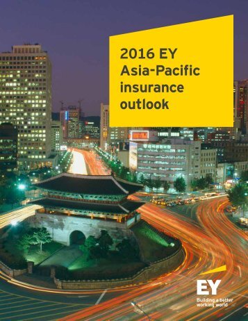 2016 EY Asia-Pacific insurance outlook
