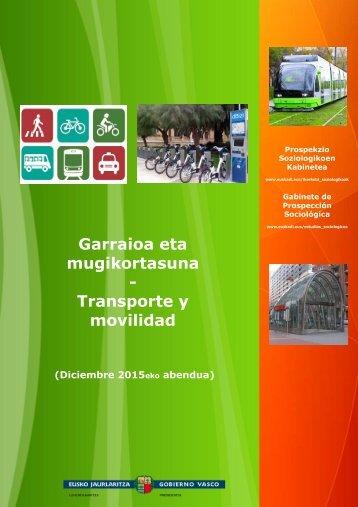 mugikortasuna - Transporte y movilidad