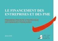 LE FINANCEMENT DES ENTREPRISES ET DES PME