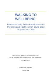 WALKING TO WELLBEING