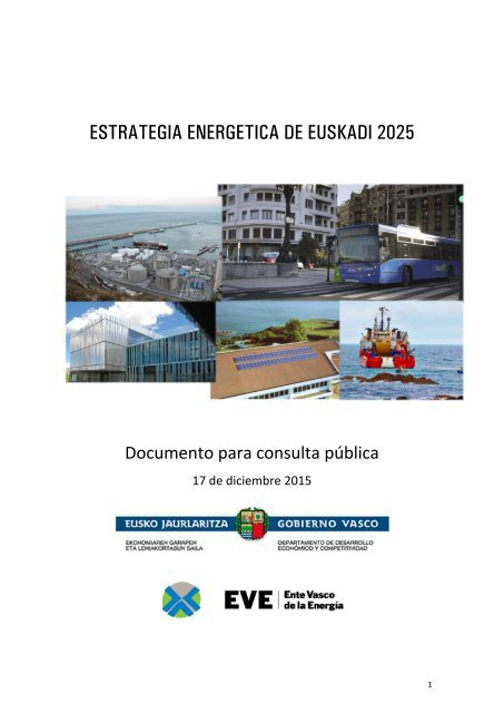 ESTRATEGIA ENERGÉTICA DE EUSKADI 2025