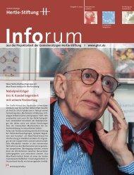 """Ein """"sehr gut"""" von Johannes Rau - Inforum - Hertie Stiftung"""
