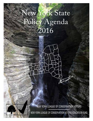 New York State Policy Agenda 2016