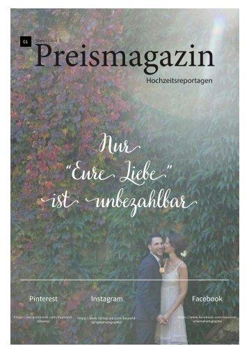 Preismagazin tausendschön photographie