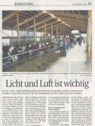 Licht und Luft sind wichtig (PDF, 1.4 MB - Swissmilk