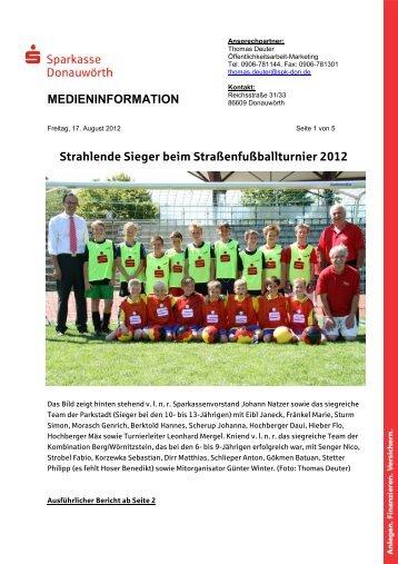 medieninformation - Sparkasse Donauwörth