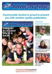 Countrywide Austral Presents The National Bluelight Magazine Issue 36 Summer 15-16