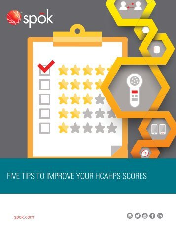 FIVE TIPS TO IMPROVE YOUR HCAHPS SCORES