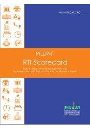 RTI Scorecard