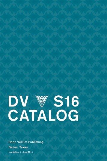 DV S16 CATALOG