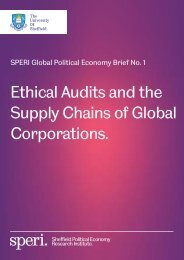 Supply Chains of Global Corporations