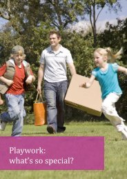 Playwork what's so special?