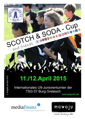 Stadionheft Scotch&Soda and friends - Cup 2015