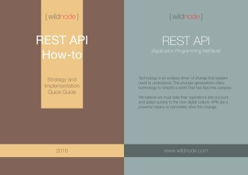 REST API How-to REST API