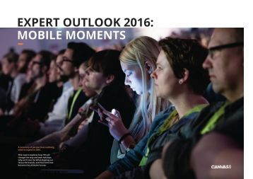 EXPERT OUTLOOK 2016 MOBILE MOMENTS