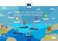 TTIP una gran oportunidad para las pymes españolas