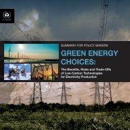 GREEN ENERGY CHOICES