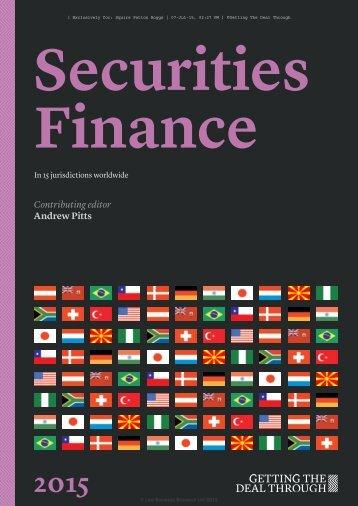 Securities Finance