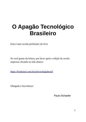 O Apagão Tecnológico Brasileiro