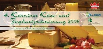 GOLD Die Sieger und Siegerprodukte der 4. Kärntner Käse