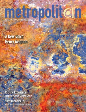 A New Voice Henry Avignon - The Arts and Cultural Council for ...