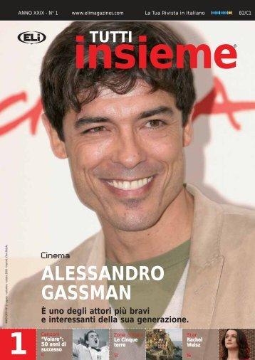TUTTI insieme ALESSANDRO GASSMAN È uno degli ... - didaktis