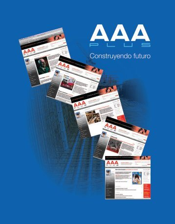 Edicion No 01 AAA Plus Magazine
