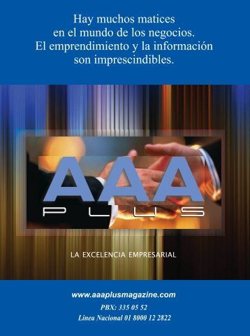 Edicion No 03 AAA Plus Magazine