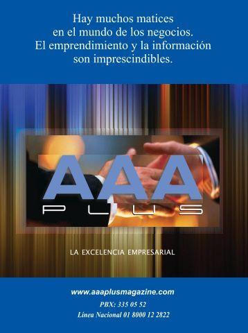 Edicion No 04 AAA Plus Magazine