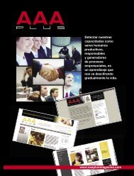 Edicion No 07 AAA Plus Magazine
