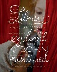 Nashville Public Library + Nashville Public Library Foundation   2015 Annual Report