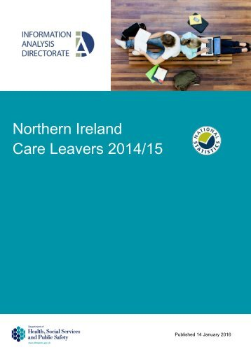 Northern Ireland Care Leavers 2014/15