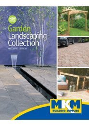 Garden Landscaping Collection - MKM Building Supplies