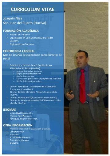 CV Joaquin Niza