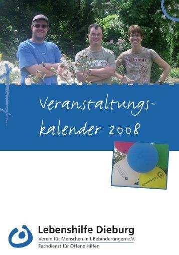22.01.08 - Lebenshilfe Dieburg eV