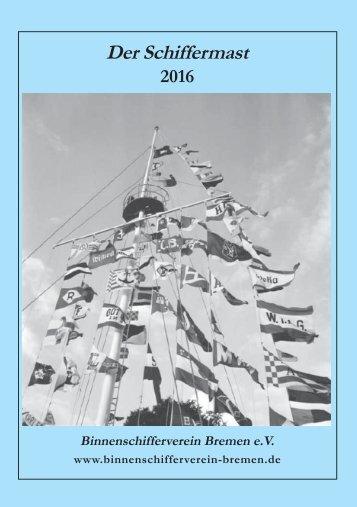Der Schiffermast 2016
