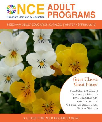 nce adult programs - Needham Public Schools