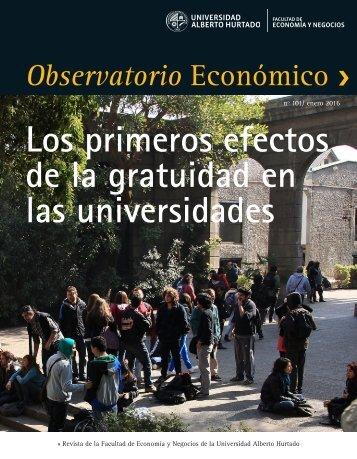 Los primeros efectos de la gratuidad en las universidades