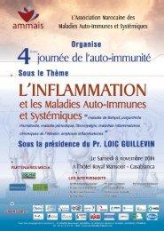 Flyer  4eme journée de l'auto-immunité 8 novembre 2014 AMMAIS
