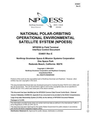 npoess - NASA