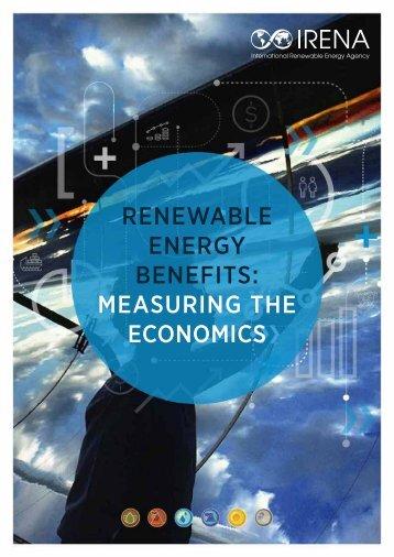 ENERGY BENEFITS MEASURING THE ECONOMICS
