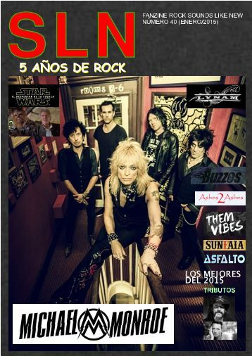 SOUNDS LIKE NEW Nº 40 (HEAVY ROCK FANZINE)