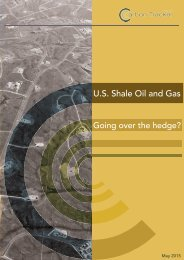 U.S Shale Oil and Gas