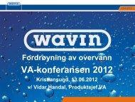 VA-konferansen 2012 - Driftsassistansen