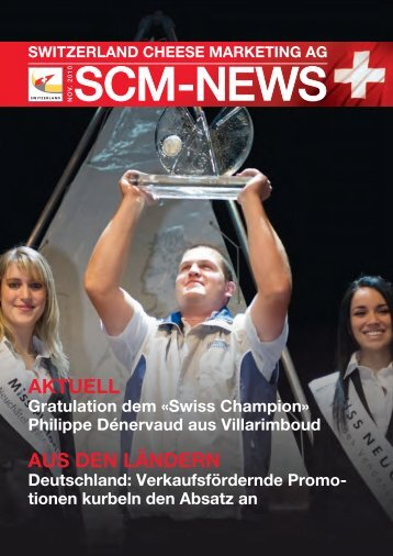 SCM News November 2010 - Switzerland Cheese Marketing AG