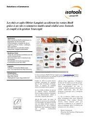 Les thés et cafés Olivier Langlois grâce à un site e ... - Cegid.fr