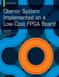 Oberon System Implemented on a Low-Cost FPGA Board