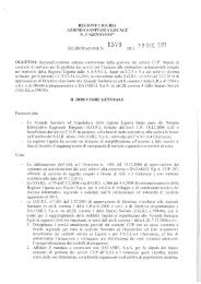 regione liguria azienda sanitaria locale n. 3 'genovese' 13139 ...