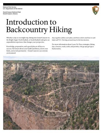 Introduction to Backcountry Hiking